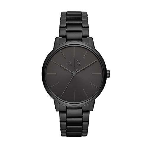 Top 10 recommendation mens watches black stainless steel armani