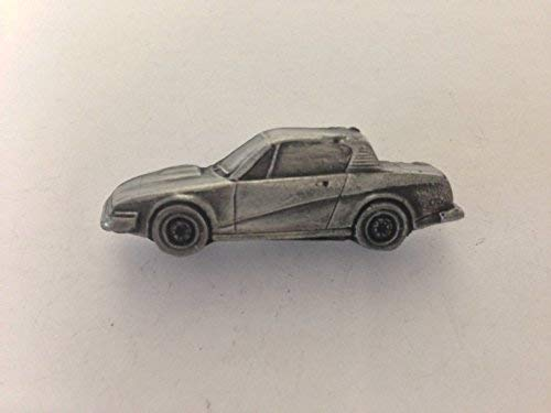 Triumph TR7 FHC 3D pin badge car pewter effect pin badge ref272 by prideindetails