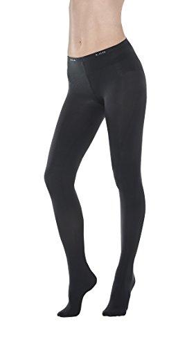 VivaLeg Leg Slimmer Tights Stockings (Black, M)