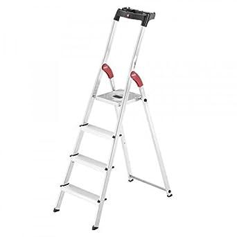 Hailo 0005262 Escalera, Fabricada en Aluminio, Modelo Polivalente ...