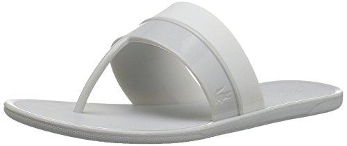 Lacoste Women's Promenade Ace 117 1 Fashion Sneaker, Light Grey/White, 6 M US