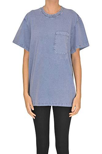 Algodon Claro Mcgltps000005003e Stella T Mccartney shirt Mujer Azul wxHnf1qC
