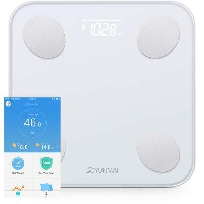 Balance Smart Body Fat Scale Intelligent Data Analysis APP Control Digital Weighing Tool