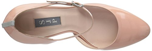 SJP by Sarah Jessica Parker Women's Campbell Ankle Strap Heels Pink (Bare Patent) buy cheap pay with paypal qY7WMqhV