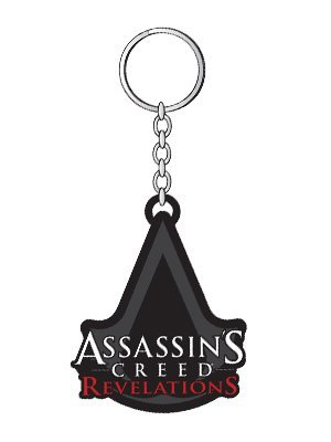 Bioworld - Porte Clé - Assassins Creed Révélations - Logo Gomme - 8717973338734