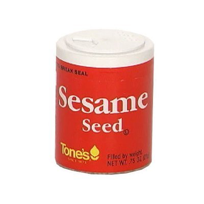 Tone's Mini's Sesame Seed, 0.75 Ounce (Pack of 6) by Tone's