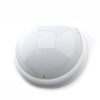 Plafón Media Luna IP54 antivandálico LED 6400K con sensor Blanco