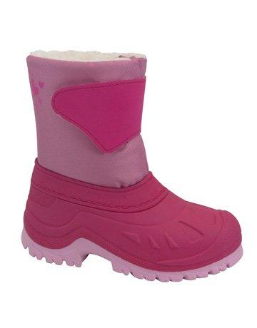 Junior polaire pour bottes de neige-Fuchsia