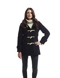 Womens Soho Elegance Slim Fit Duffle Navy