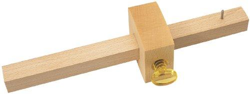 Charpentier Trusquin–Fabriqué à partir de bois de hêtre avec marquage simple durci éperons et tour en plastique à vis. Emballage de Présentation. DRPT