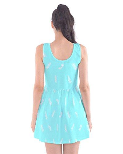 CowCow - Vestido - para mujer Turquoise Bird