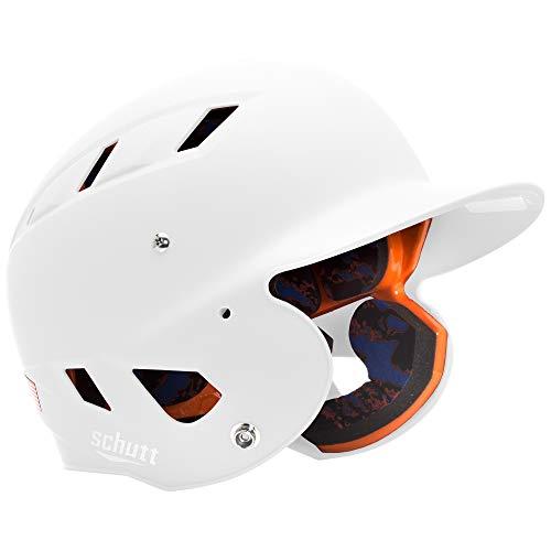 Schutt Sports AiR 5.6 Softball Batter's Helmet, Matte White, Large