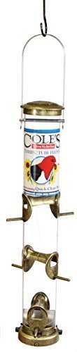 Cole's Terrific Tube Bird Feeder, 6-Port by Coles