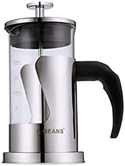 QIN.J.FANG-ホーム ステンレス製フレンチプレス、コーヒーメーカーオフィス、旅行、家庭用,350Ml