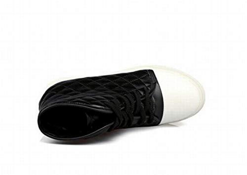 Studenti Piatto Tubo 43 S' spessore Alta Sneakers Da 36 Fondo Scarpe Nero In Zj Più Caldo Cotone Le Velluto Di 'scarpe A Donne Inferiore vq7anS