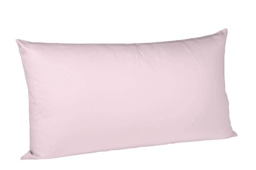 fleuresse S-009200-4040-3100 Interlock Jersey Kissenbezug colours Uni 40 x 80 cm rosé