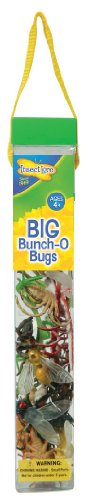 Bug Big Insect Lore (Plastic Bug Toys - 18 Colorful Giant Insect Figures - By Insect Lore)