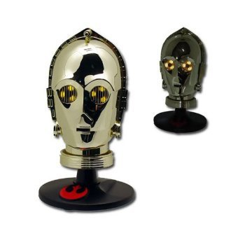 (Star Wars Trilogy Collection Authentic C3PO Miniature Helmet by Star Wars)