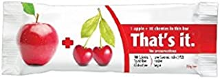product image for That's it Fruit Bars, Apple and Cherry, Pack of 24 (2 Cases)