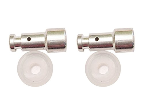 TWIN PACK: Two FLOATING VALVE (or Float Vale) and Silicon Gasket Sets for Power Pressure Cooker Models Such as XL, YBD60-100, PPC780, PPC770, PPC790, PCXL-PRO6, PC-TRI6, and PC-WAL1 by GJS Gourmet (Image #3)