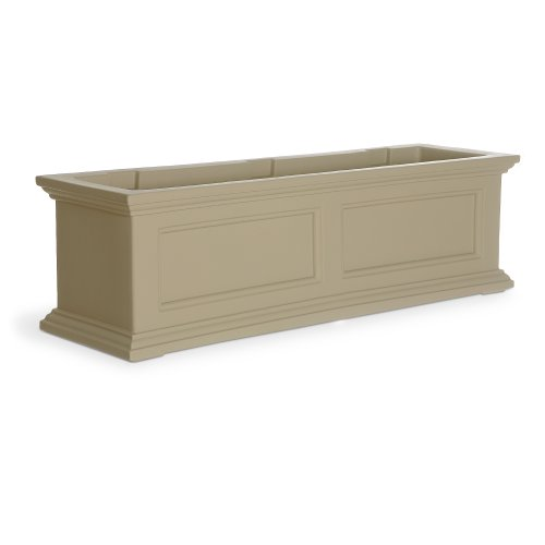 Mayne Fairfield 5822C Window Box Planter, 3-Foot, (Teak Window Planter Box)