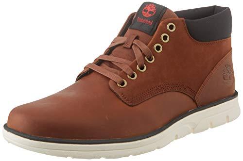 Timberland Herren Bradstreet Chukka Leather High-top Sneakers, braun, 41 EU