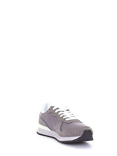 SUN68 S0001 Sneaker Mann Grau