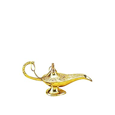 Deco 79 09112 Brass Aladdin lamp 7  L -
