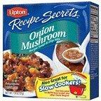 Lipton Recipe Secrets Soup And Dip Mix Onion Mushroom 1 Box 2 Envelopes 1.8 OZ (Pack of 24) by Lipton