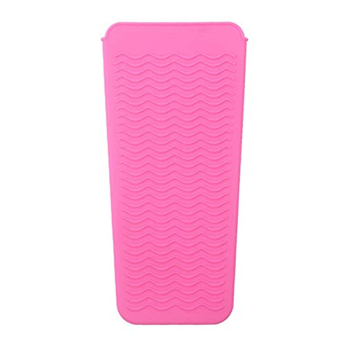 1 PK Silicone Heat Resistant Mat Pouch Travel goods Professional Heat Resistant Styling Station Mat Cover For Packaging Hair Waving Iron and Hot Hair Styling Tools Curling Iron Hair Straightener