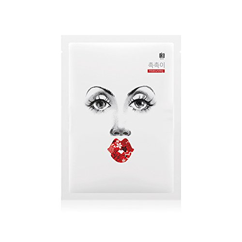 OKA Hydration & Nourishment Care, Moisturizing Facial Mask Sheet, 10ea -