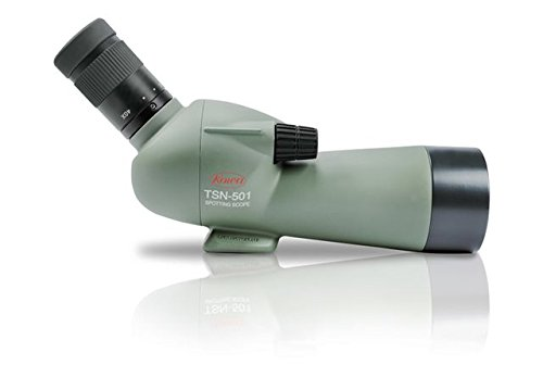 Kowa TSN-501 50mm Angled Spotting Scope w/ 20-40x Zoom Eyepiece, Green, Compact, by Kowa (Image #2)