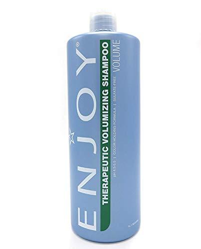Enjoy Therapeutic Volumizing Shampoo, 33.8 Fluid Ounce