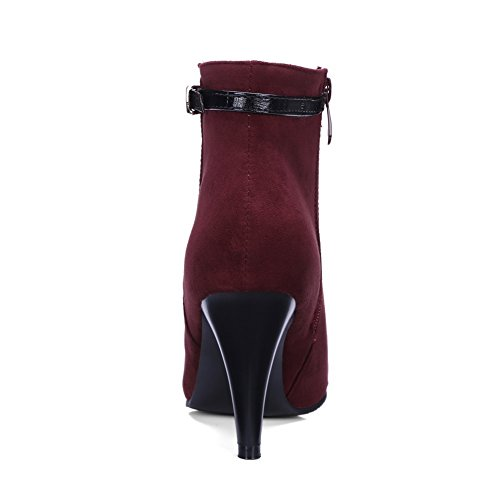 36 Bas Femme Bordeaux Dku01682 EU 5 Rouge An XBFwZ6nqB