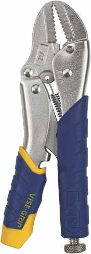 Straight Locking Jaw - IRWIN Tools VISE-GRIP Locking Pliers, Fast Release, Straight Jaw, 7-inch (3T)