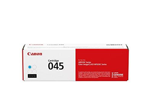 Canon Lasers Cartridge 045 Cyan, Standard Canon Original 045 Toner Cartridge - (Canon Original Drum Cartridge)