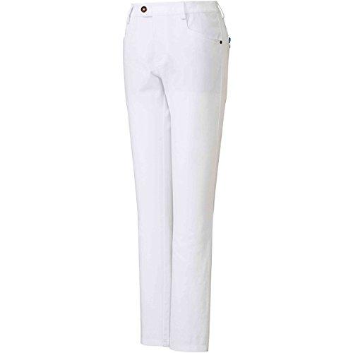 アディダス Adidas ロングパンツ ストレッチ ADICROSS スリムパンツ レディス ホワイト S