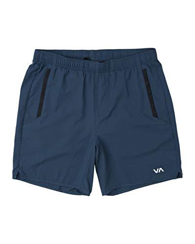 (RVCA VA Yogger III Sports Shorts Workout Leisure Short (Surplus Blue,)