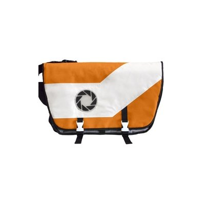 Portal Aperture Laboratories Messenger Bag by Crowded Coop by Valve