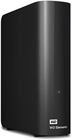 Western Digital 6 TB Elements Desktop externe Festplatte USB3.0 -WDBWLG0060HBK-EESN