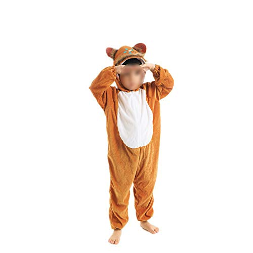 Halloween Cosplay Jumpsuit Animal Performance Costume Long Sleeve One Piece,Monkey long110cm