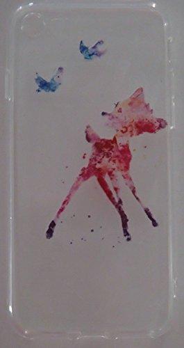 Coque iPhone 7 Bambi en silicone
