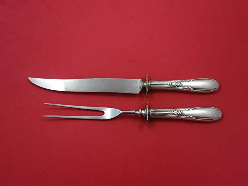 Fleetwood By Manchester Sterling Silver Steak Carving Set 2-Piece