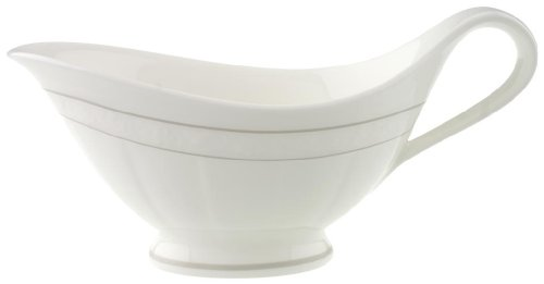 Villeroy and Boch Grey Pearl Sauceboat 0.40L (Sauce Boat Only) ()