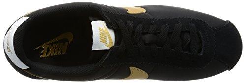 pour Nylon Cortez Classic Nike Noir Baskets Homme Iw7BnTx