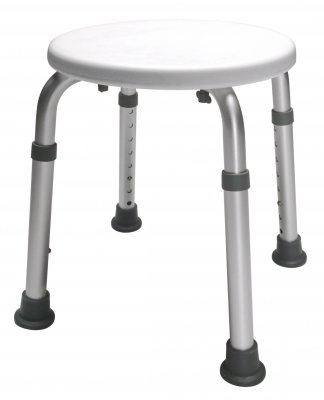 Lumex Bath Stool, White by Lumex