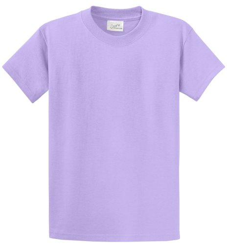 Joe's USA(tm - Heavyweight 6.1-Ounce, 100% Cotton T-Shirts in Size S Lavender