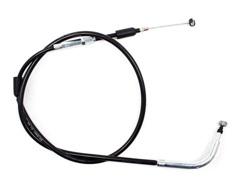 Motion Pro 04-0207 Black Vinyl Clutch (Chrome Clutch Cable)