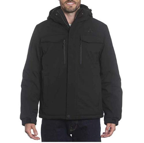 - Gerry Men's Nimbus Tech Jacket (XL, Black)