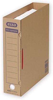 Elba 100421094 Abheft Bugel Tric System 100 Stuck Zum Umfullen Und Archivieren Von Ordnerschriftgut Rot Archivschachtel Archivbox Amazon De Burobedarf Schreibwaren